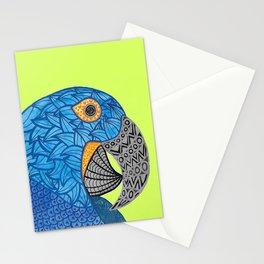 Macaw Azul Guacamaya Stationery Cards