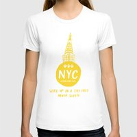 nyc T-shirts featuring NYC by Kathryn Nyquist