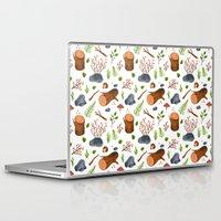 woods Laptop & iPad Skins featuring Woods by Julia Bereciartu