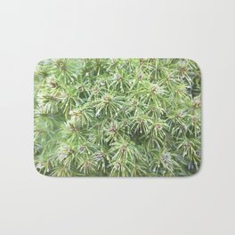 Spring Rain on Spruce Needles Bath Mat