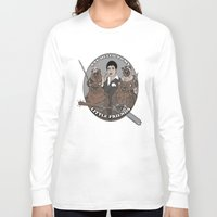 scarface Long Sleeve T-shirts featuring Scarface and his little Friends by Micahbrown3D.com