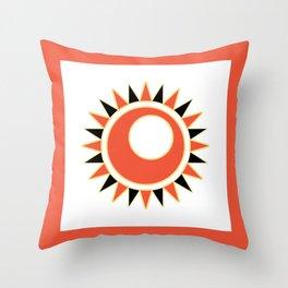 Hollow star Throw Pillow