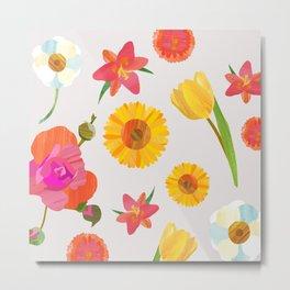 My Favorite Flowers Metal Print