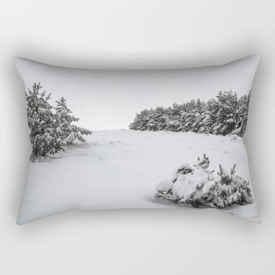 """Sierra Nevada"" Retro Rectangular Pillow"