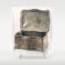 Vintage Jewellery Box  Shower Curtain