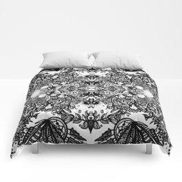 Fractal Blossoms Comforters