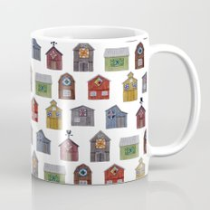 Barn Quilt Illustration Mug