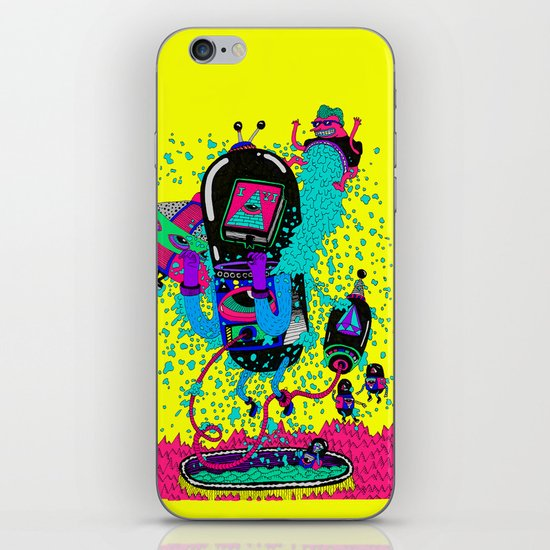 spirito iPhone & iPod Skin