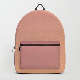 AFTER FALL - Minimal Plain Soft Mood Color Blend Prints Backpack