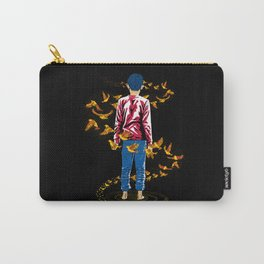The Birds Flew Around Him Carry-All Pouch