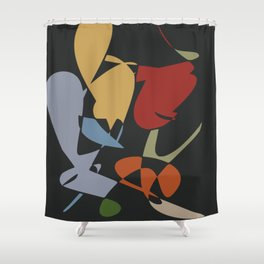 Abstract today Shower Curtain