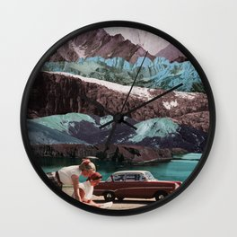 Planning the next trip Wall Clock