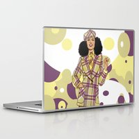 suit Laptop & iPad Skins featuring Wool Suit by Tom Tierney Studios