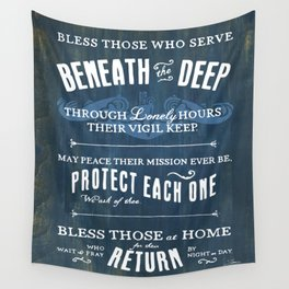 Submariners' Hymn Wall Tapestry