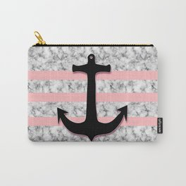 Marble Anchor Carry-All Pouch