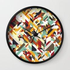 Native Geometric Wall Clock