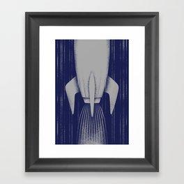 Rocket Framed Art Print
