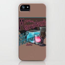 Maccadam's iPhone Case