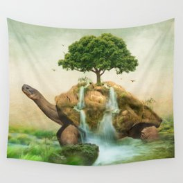 Carrying The Seeds Of Hope Wall Tapestry
