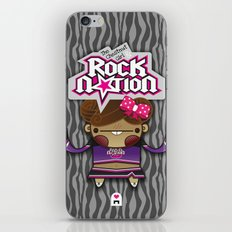 The Chestnut Girl & Rock Nation !!! iPhone & iPod Skin