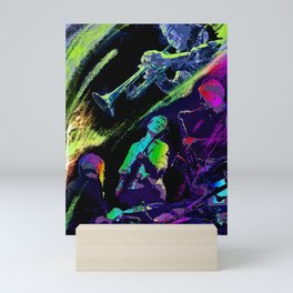 Colorful Jazz Mini Art Print