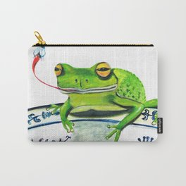 Inviting a Frog to Dinner Carry-All Pouch