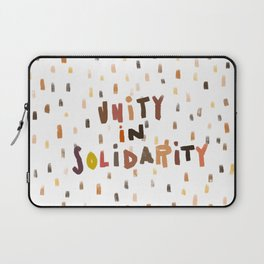 Unity in Solidarity Laptop Sleeve