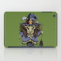 witch iPad Cases featuring Witch by Kape
