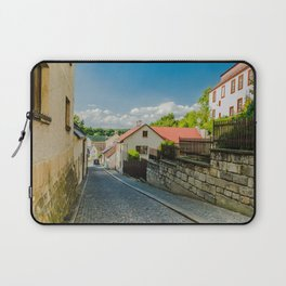 A street in Turnov Laptop Sleeve