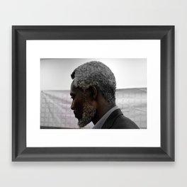Chuma Nwokolo by David Emeka Kalu ® Framed Art Print