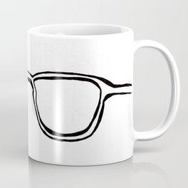 Four Eyes - B/W Coffee Mug