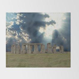 Stonehenge IV Throw Blanket