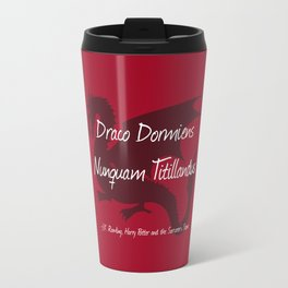 Draco Dormiens Nunquam Titillandus Travel Mug