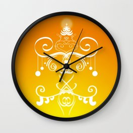 Christmas decorations 3 Wall Clock