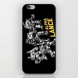 Alpha Lance iPhone Skin
