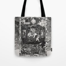 The Void Tigers' Last Smiling Crawl Towards A Long Dead God Tote Bag