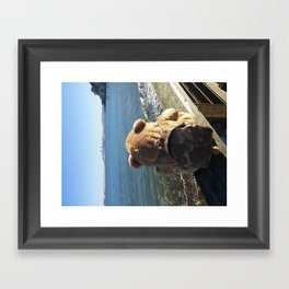 Saucilto Bay Framed Art Print