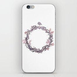 Wreath iPhone Skin