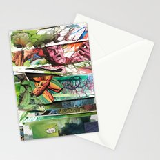 comic strips 2 Stationery Cards
