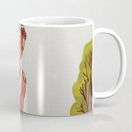 Run Cross-Country Vintage Art Print Coffee Mug
