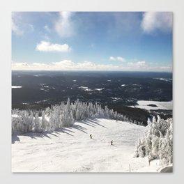 Snowy Horizon #2 Canvas Print