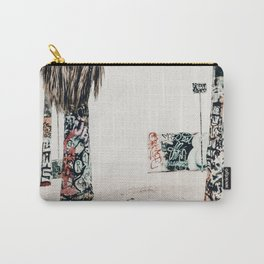 graffiti palms Carry-All Pouch