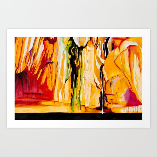 Lake Powell Arizona Art Print