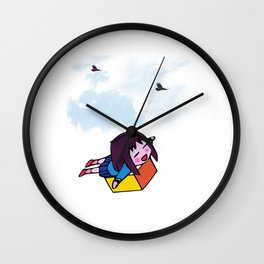 I Wanna Fly Wall Clock