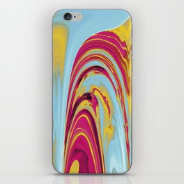 The Flaring Falls of Strine Canyons (Lava Variant) iPhone Skin