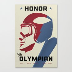 Honor the Olympian Canvas Print