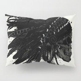 Warbonnet Skull Pillow Sham