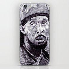 Omar Little iPhone & iPod Skin