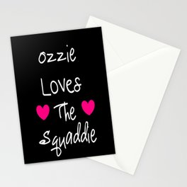 Doctor Who Ozzie Loves The Squaddie Stationery Cards