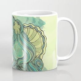 Mermaid Green Coffee Mug